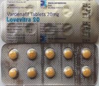 Дженерик Левитра 5x20мг  Дженерик Левитры, Варденафил 20 мг. Производство: Индия.