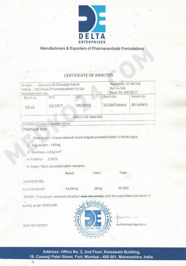 сертификат соответствия левитра софт