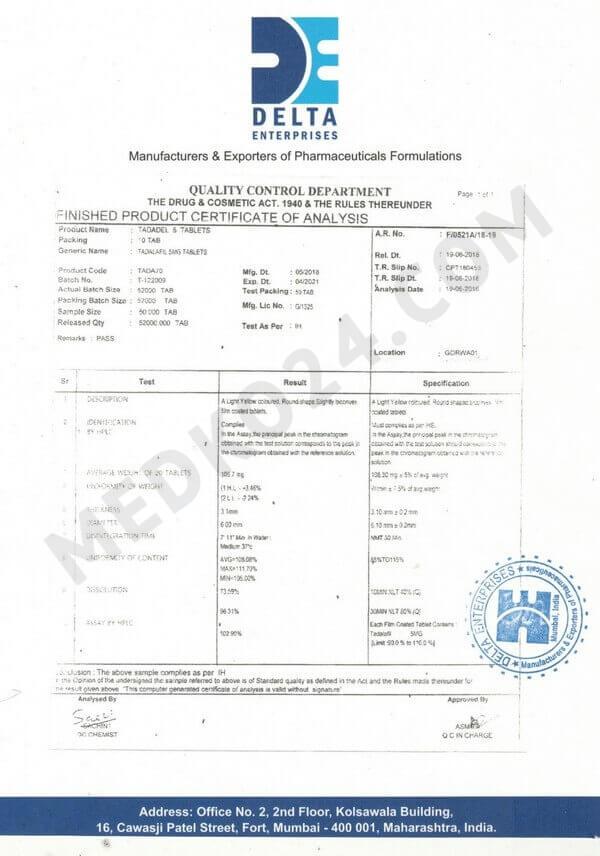 сертификат соответствия сиалис 5